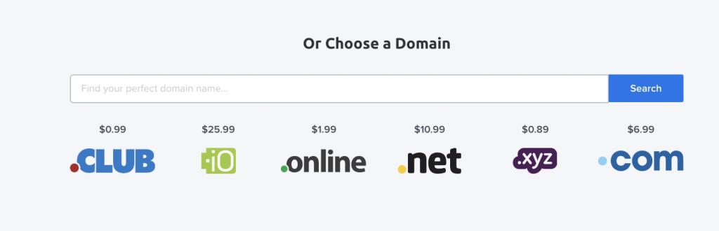Dreamhost Domains