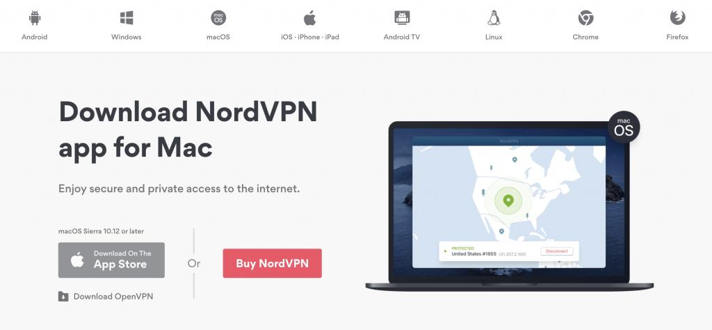 NordVPN Applications