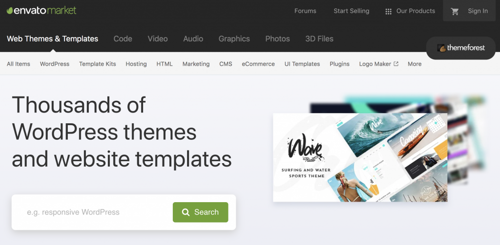 Themeforest intro
