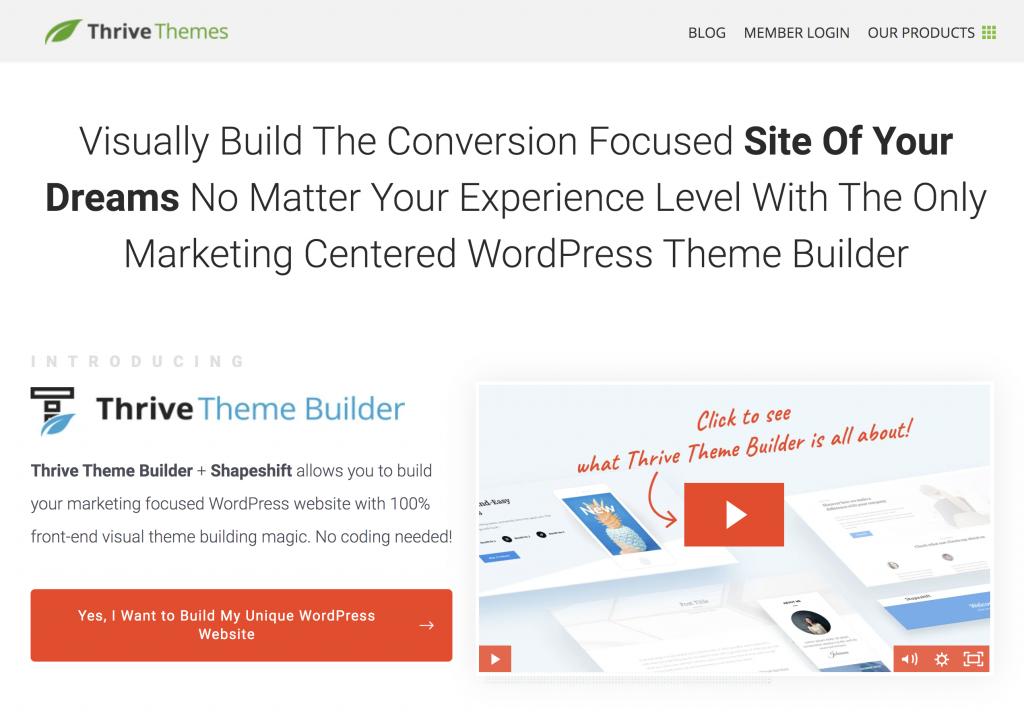 Thrive Themes Builder
