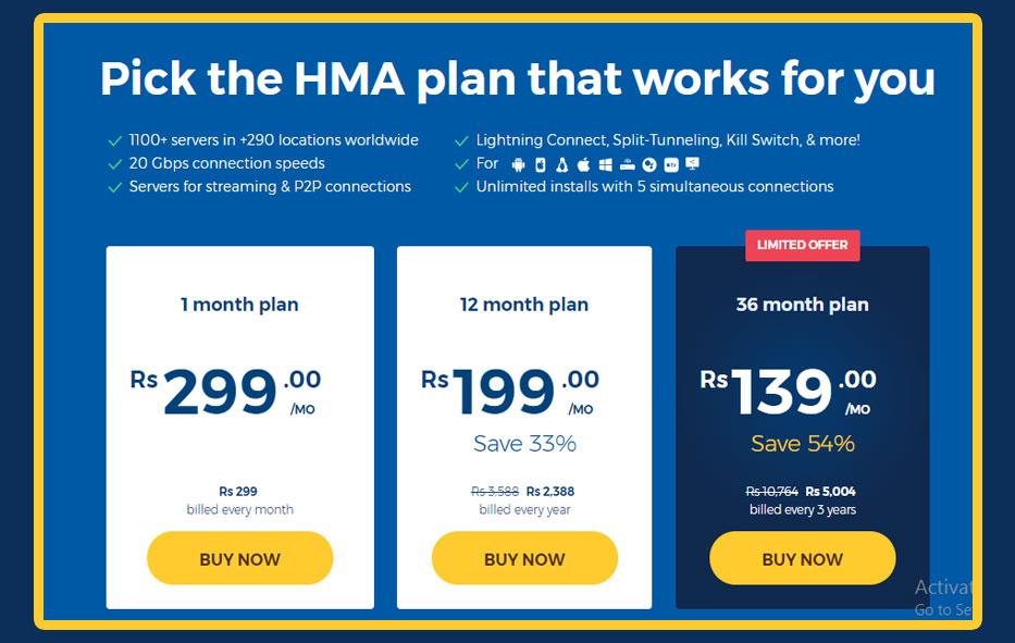 HMA VPN Review